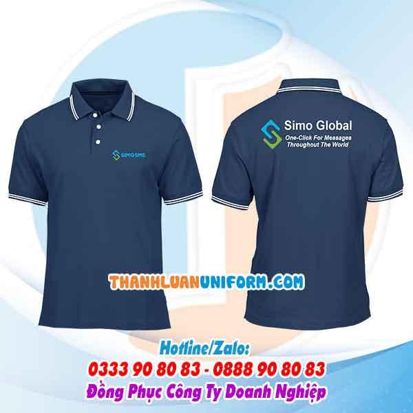 Công ty TNHH Thành Luân Uniform sản xuất trọn gói đồng phục áo thun, áo sơ mi, áo bảo hộ,nón, tạp dề,..in áo theo yêu cầu - đặt áo công ty Simo Global