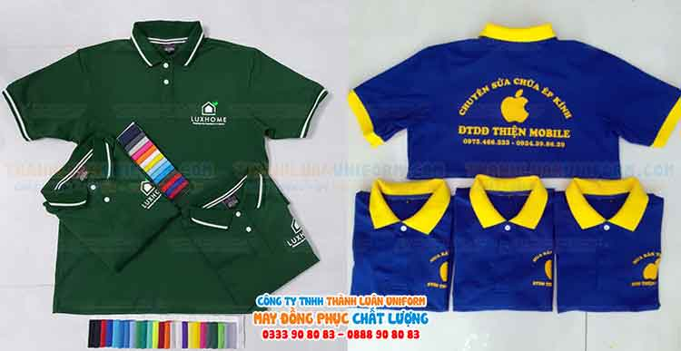 Công ty Tnhh Thành Luân Uniform chuyên may áo đồng phục giá rẻ,in áo thun đồng phục giá tốt nhất khu vực Quận Gò Vấp Tphcm