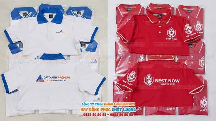 Shop in áo theo yêu cầu Thành Luân Uniform sử dụng đa dạng công nghệ in phổ biến hiện nay: in lụa, in decal, in pet, in dtg, in 3d,..