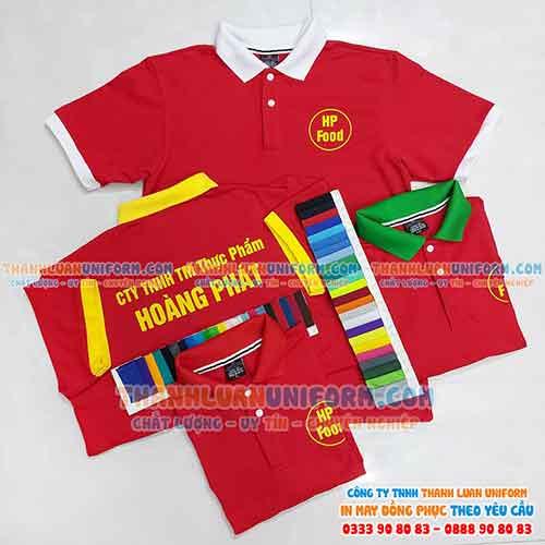Áo Đồng Phục Giá Rẻ | C.Ty Thành Luân Uniform May Đồng Phục Gò Vấp