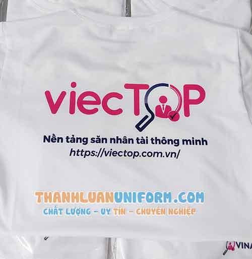in Áo Phông Đồng Phục   May Áo Phông in Hình Theo Yêu Cầu Tphcm