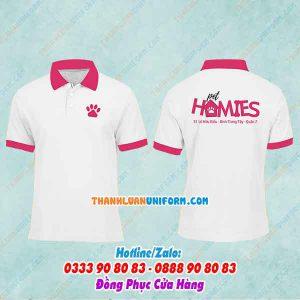 Đồng Phục Cửa Hàng Thú Cưng Homies | in Áo Thun Cotton 100% Tphcm