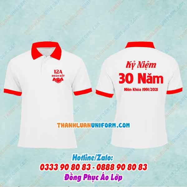 Áo Lớp Kỷ Niệm 30 Năm   Làm Áo Lớp Theo Yêu Cầu Gò Vấp Tphcm