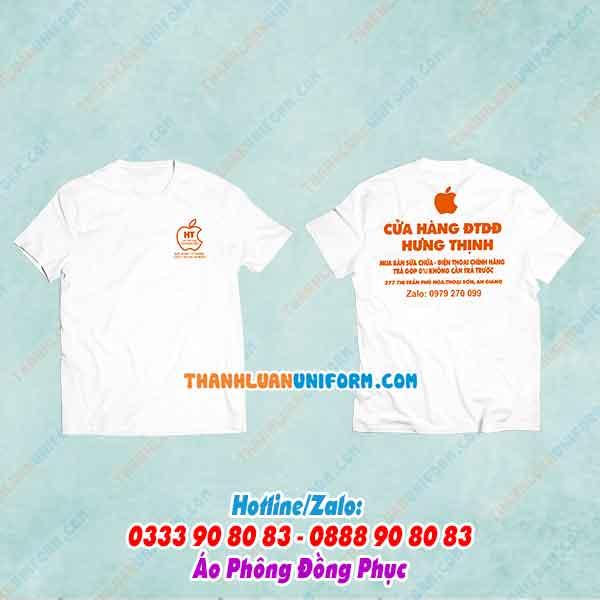 Áo Phông Nhân Viên Cửa Hàng   Công Ty May Đồng Phục Giá Rẻ Tphcm